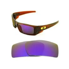 NEW POLARIZED CUSTOM PURPLE LENS FOR OAKLEY GASCAN SUNGLASSES